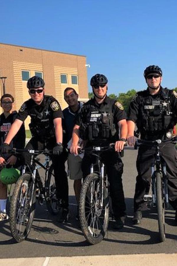 Officers on Bike